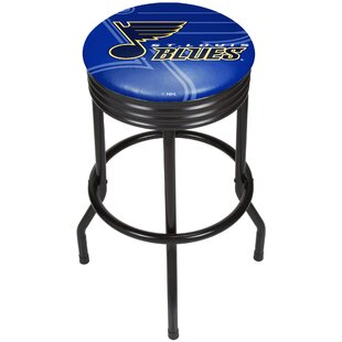 NHL Ribbed 28.5 Swivel Bar Stool