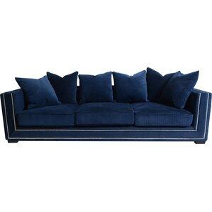 Cooper Velvet Sofa by Pasargad