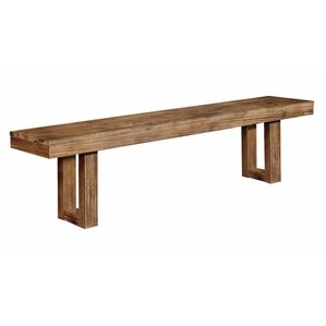 Underwood Wood Bench by Infini Furnishings