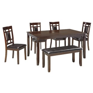 6 Piece Kitchen & Dining Room Sets You'll | Wayfair on 6 piece bar set, 6 piece bed set, 6 piece sofa, 6 piece mirror set, farmhouse 6 piece dining set, 6 piece bath set, 6 piece futon set, 6 piece table and chairs, 6 piece dining table, 6 piece living room set,