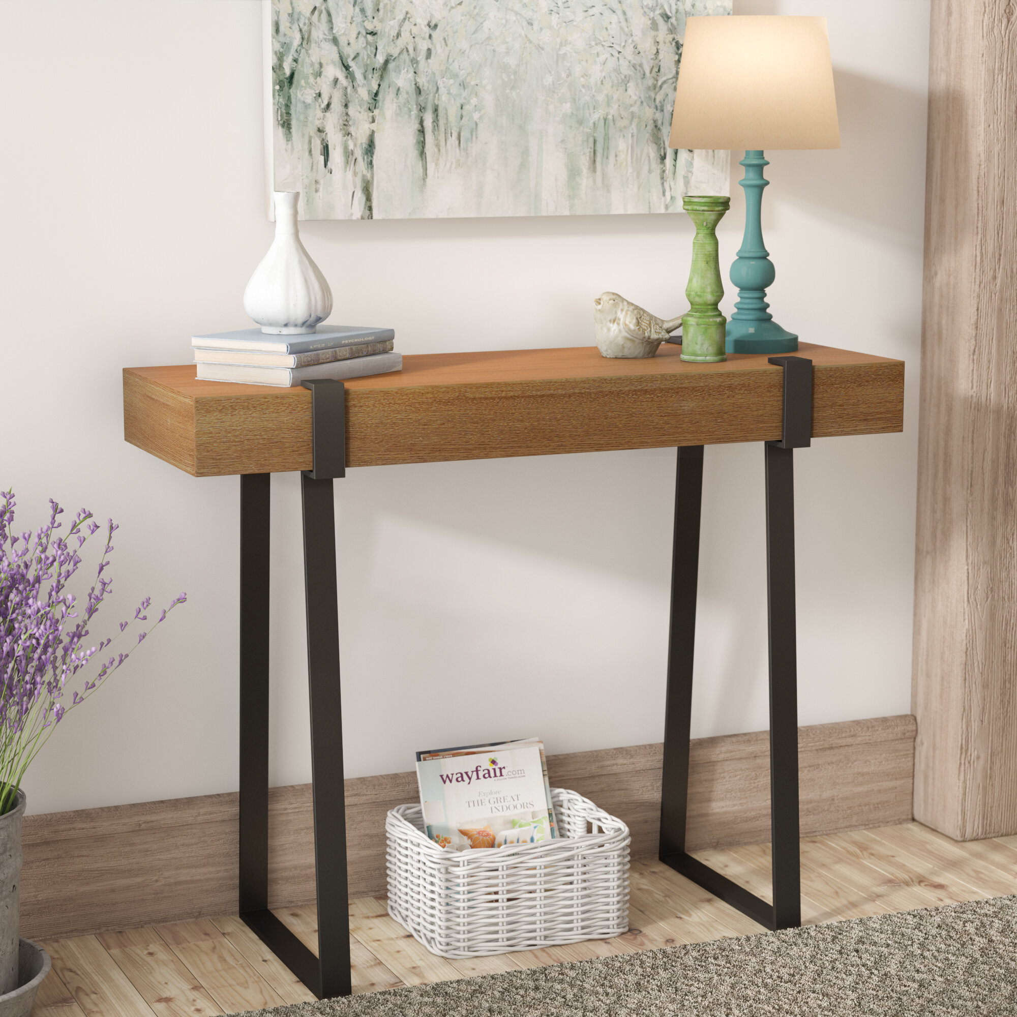 Laurel Foundry Modern Farmhouse Wisteria Console Table Reviews