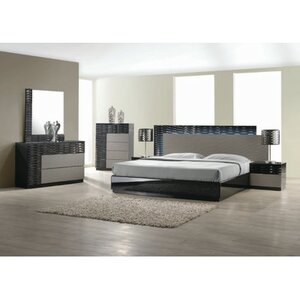 Attirant Kahlil Platform 5 Piece Bedroom Set
