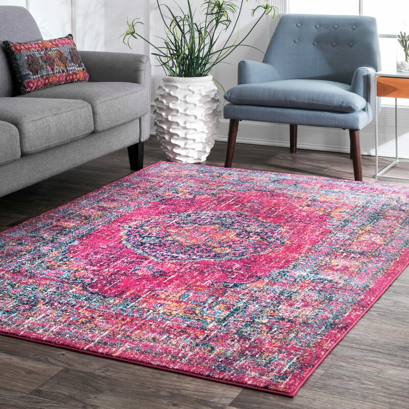 Mistana Parker Fuchsia Area Rug Amp Reviews Wayfair