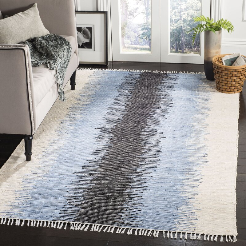 Ona Hand Woven Cotton Area Rug