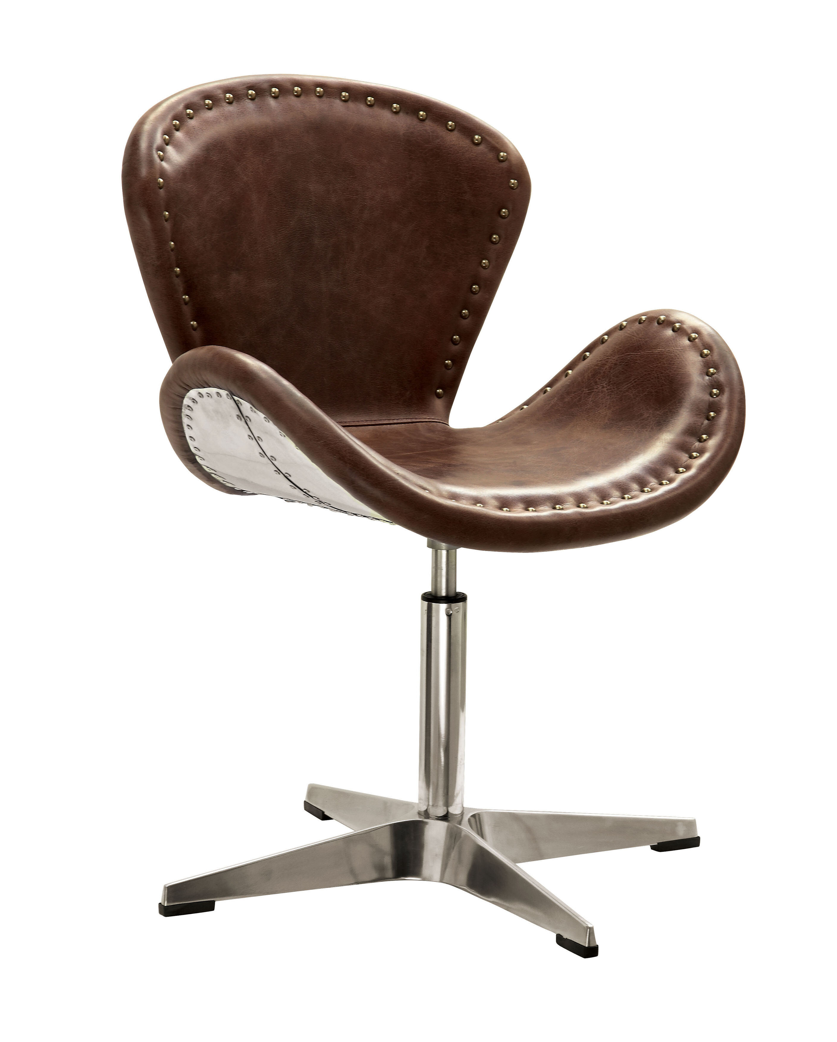 17 Stories Annessia Swivel Side Chair Wayfair