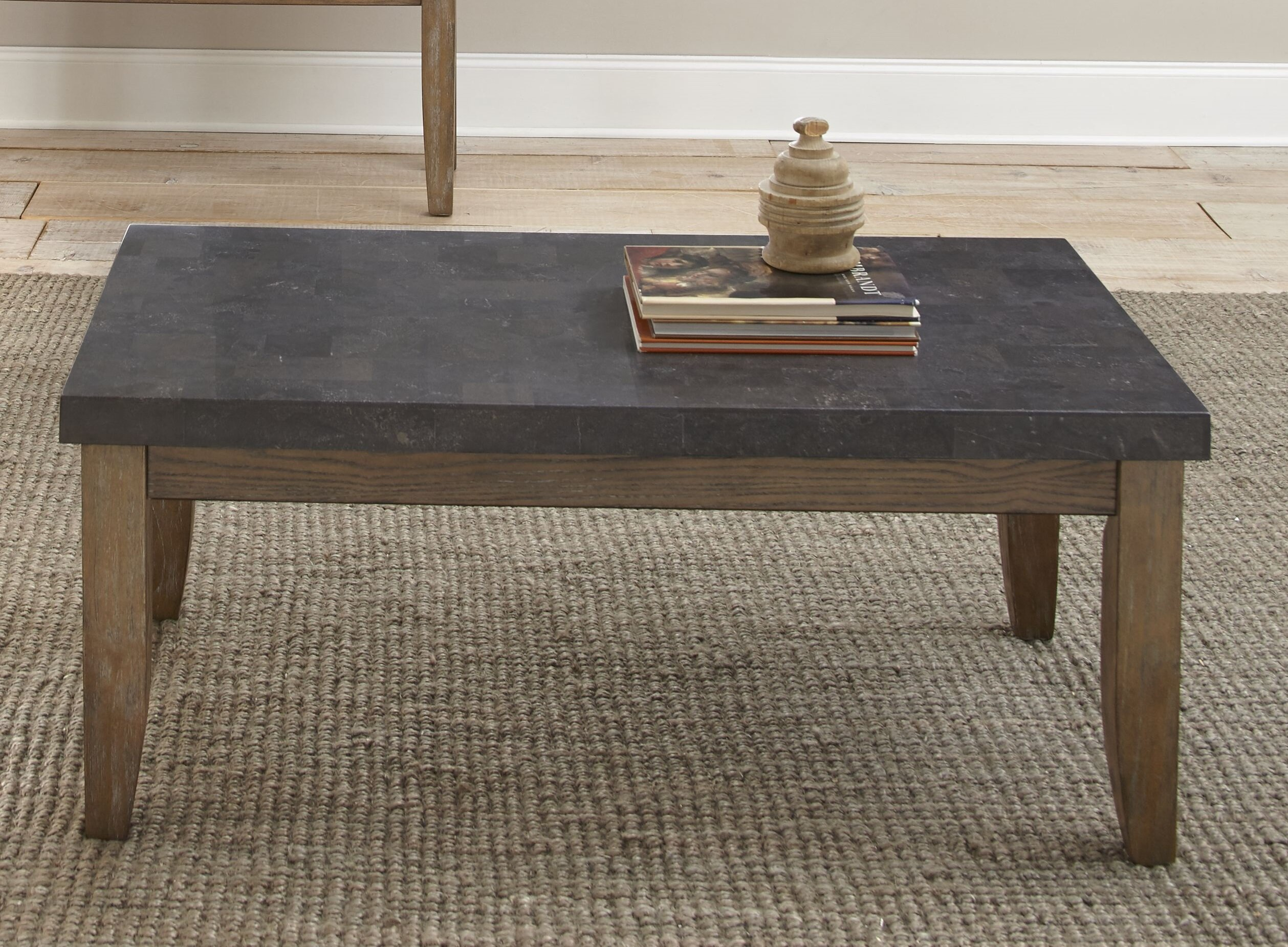 Lark Manor Dejardins Bluestone Coffee Table U0026 Reviews | Wayfair