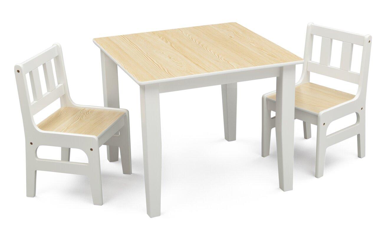 deltachildren 3 tlg kinder tisch set bewertungen. Black Bedroom Furniture Sets. Home Design Ideas