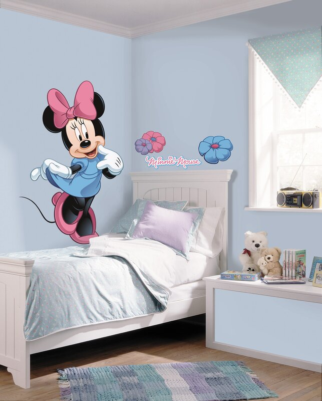 room mates mickey and friends minnie mouse wall decal reviews