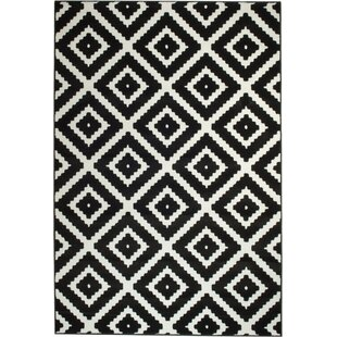 black and white rug patterns. Unique And Cheney Black Indoor Area Rug And White Patterns