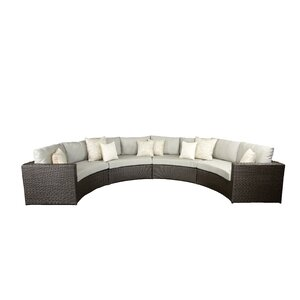 Vallejo Sectional with Cushions Set