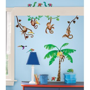 Studio Designs Monkey Business Wall Decal