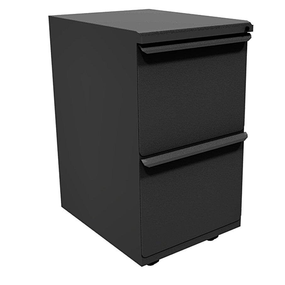 Marvel Office Furniture Zapf 2 Drawer Mobile Pedestal File Cabinet Wayfair
