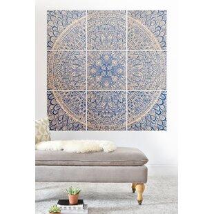 Wood Mandala Wall Art Wayfair