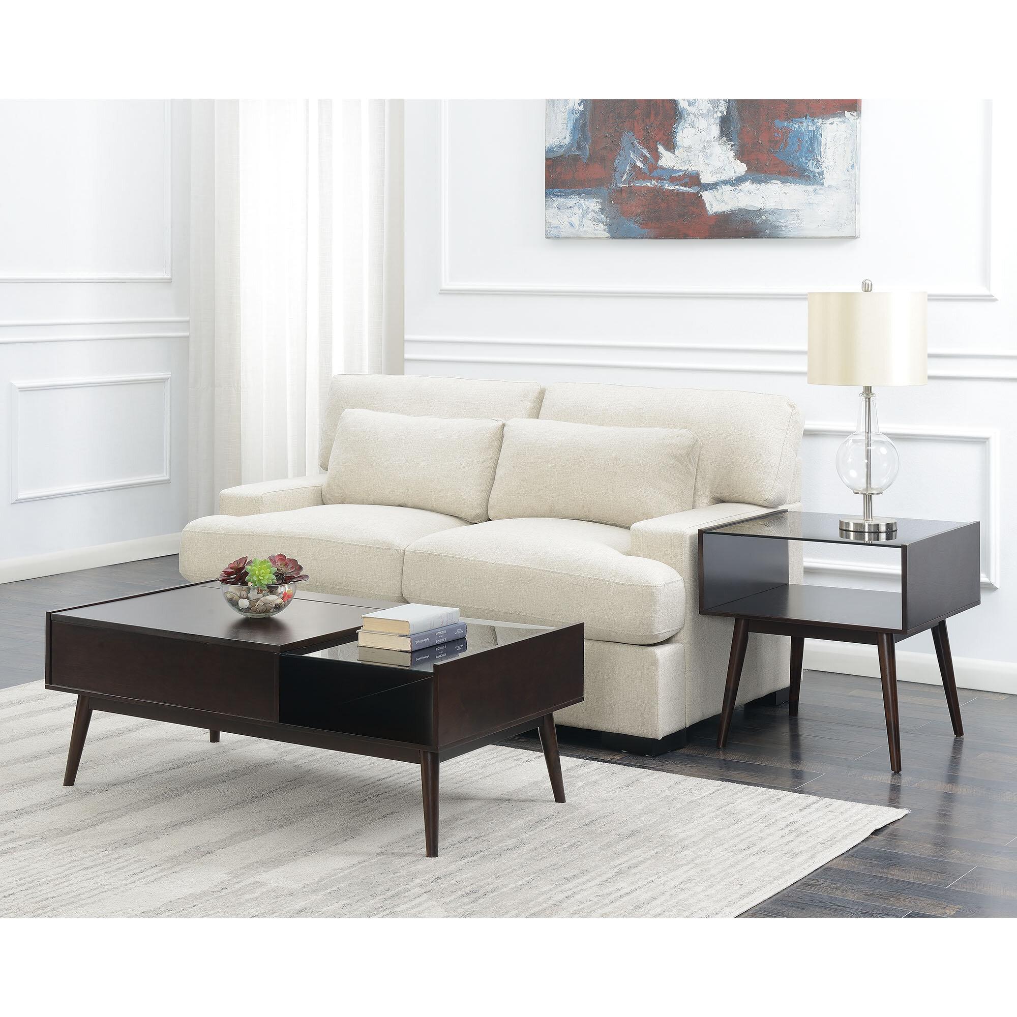 Corrigan studio ibrahim 2 piece coffee table set wayfair