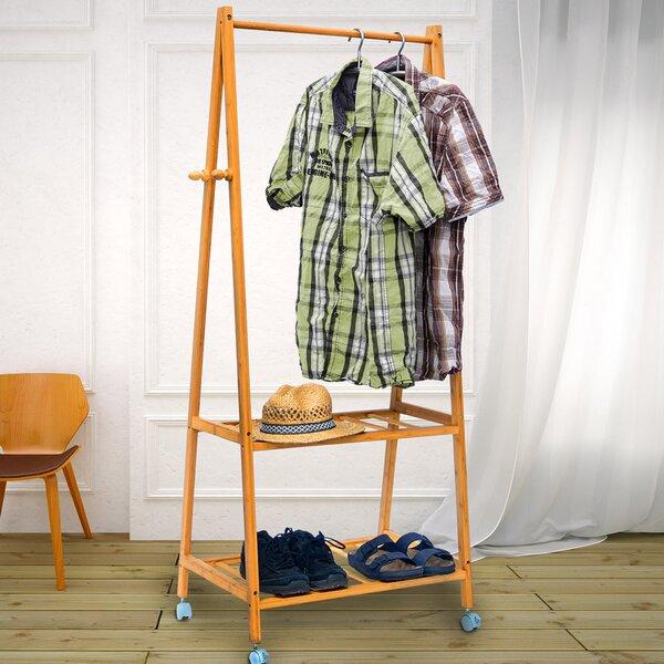 Portable And Expandable Garment Rack In Black Chrome 18 Months Impressive Garment Rack Wayfaircouk