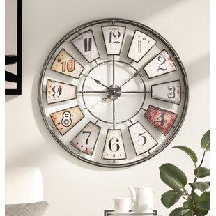 fb6d3f58160e Oversized Wall Clocks You'll Love in 2019 | Wayfair