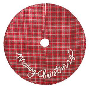 Tartan Plaid Christmas Tree Skirt