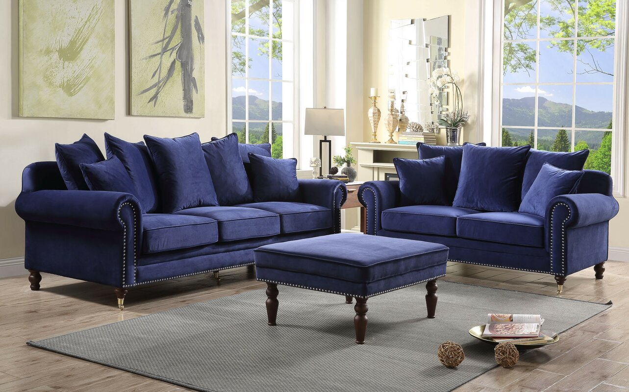Hampton 2 Piece Sofa Set