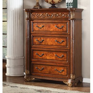 Anella 4 Drawers Chest by Astoria Grand