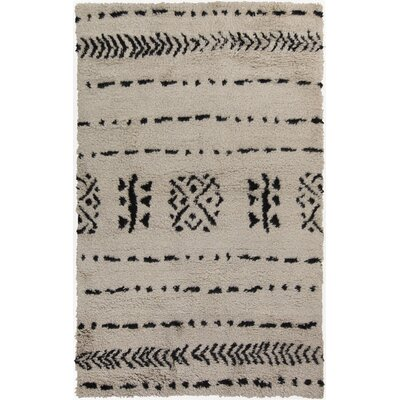 Mistana Sarvis Ivory Area Rug Rug Size: Rectangle 5' x 8'