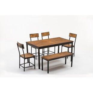 Bushman 6 Piece Pub Table Set