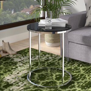 Boehm Round End Table by V..