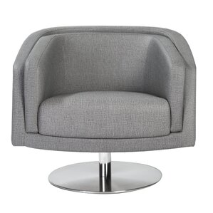 Locking Swivel Lounge Chair by Orren Ellis