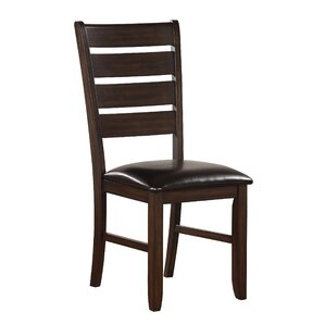 Stanley PU Side Chair (Set of 2) by Alcott Hill