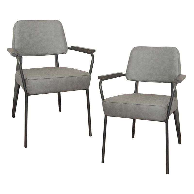 Williston Forge Shelli Fauteuil Direction Armchair & Reviews