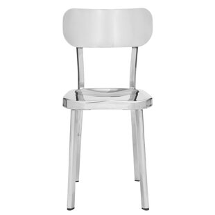Rizzuto Stainless Steel Side Chair (Set Of 2)