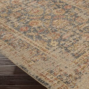 Cerys Neutral Eclectic Brown Area Rug