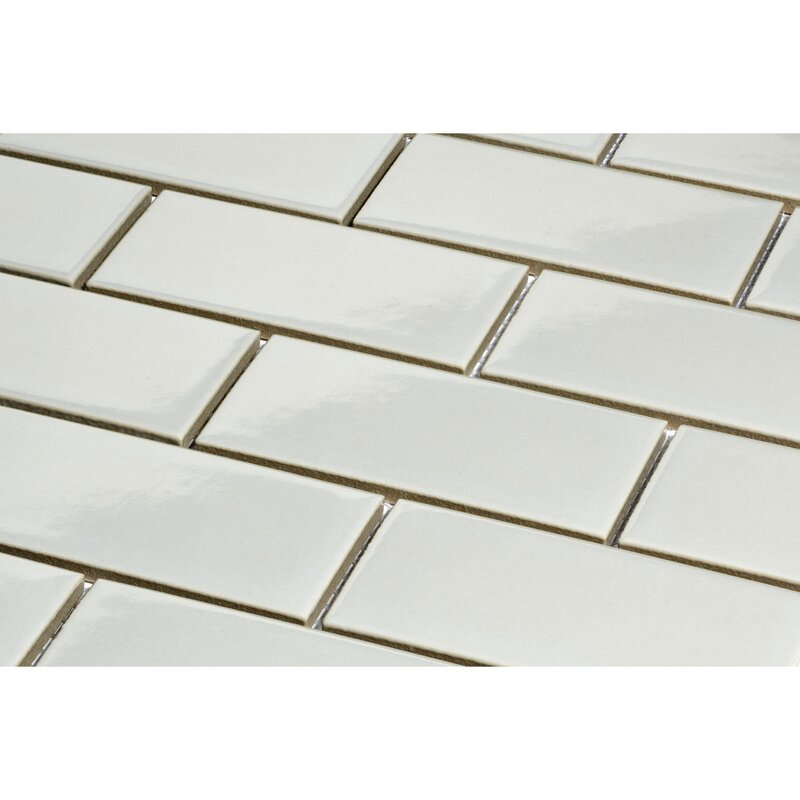 Giorbello 2 X 4 Porcelain Subway Tile In Light Gray Reviews