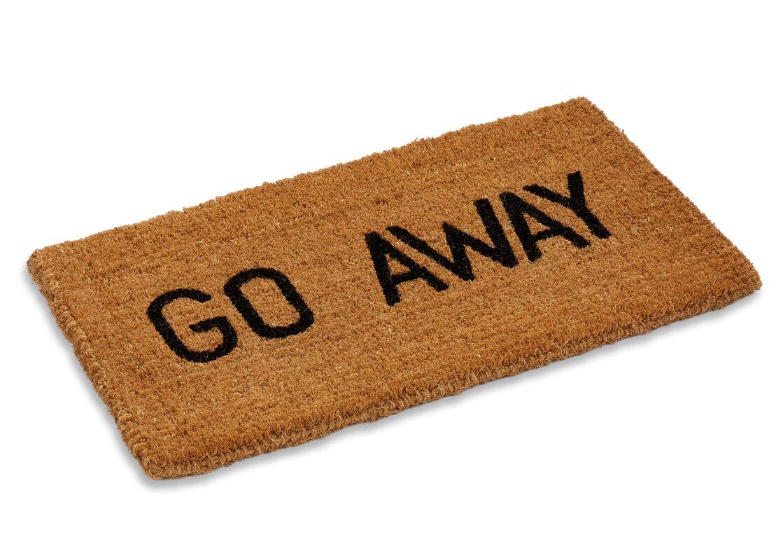 Aguirre Go Away Doormat