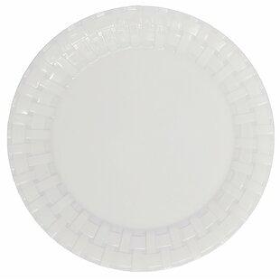 Engelhardt Weave Plastic Dinner Plate (Set of 50)  sc 1 st  Wayfair & Microwave Plastic Plates | Wayfair