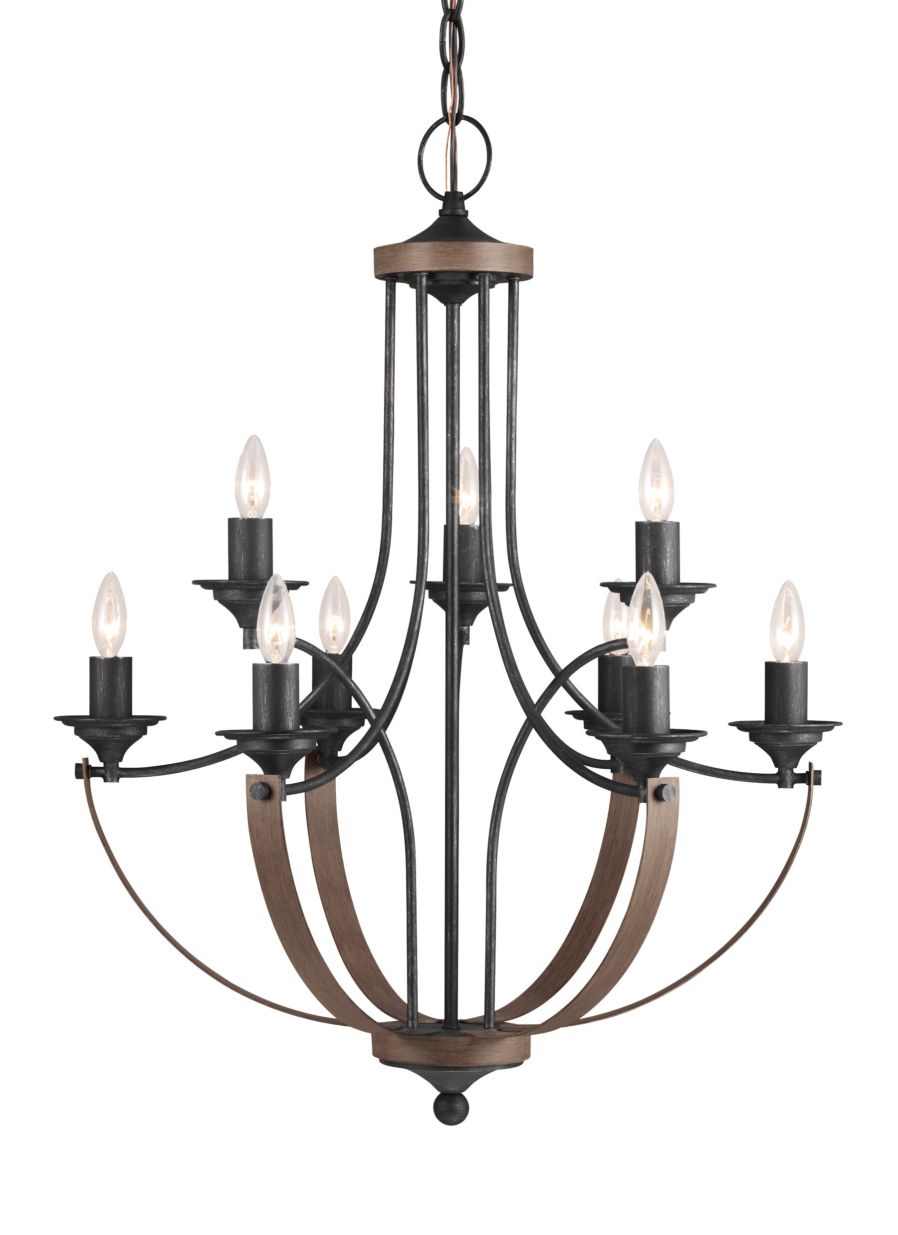 Camilla 9 light candle style chandelier reviews birch lane mozeypictures Choice Image