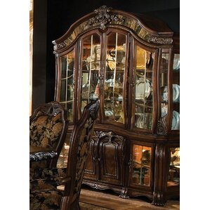 Oppulente Lighted China Cabinet by Michae..