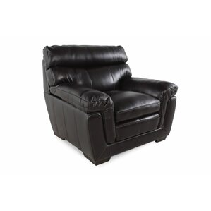 LYKE Home Leather Chair and a Half