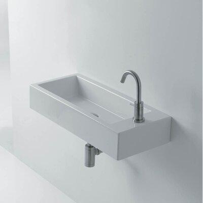 "Bathroom Sinks Wall Mount ws bath collections hox ceramic 19.7"" wall mount bathroom sink"