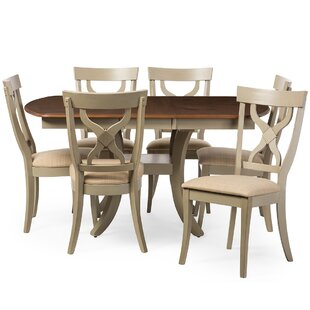 Baxton Studio Balmoral 7 Piece Dining Set