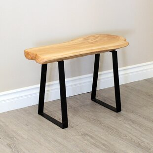 Cothren Live Edge Wood Bench