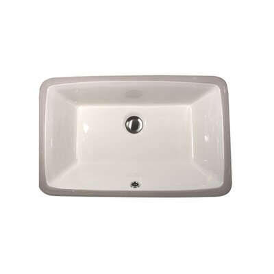 Undermount Bathroom Sink Clips nantucket sinks great point vitreous china rectangular undermount