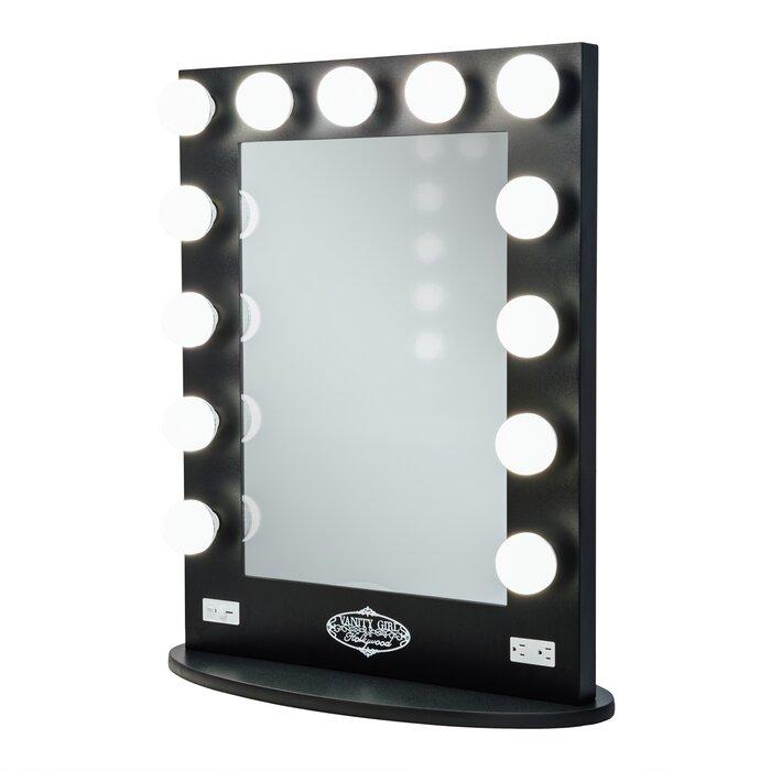 Vanity Girl Hollywood Broadway Lighted Bathroomvanity Mirror