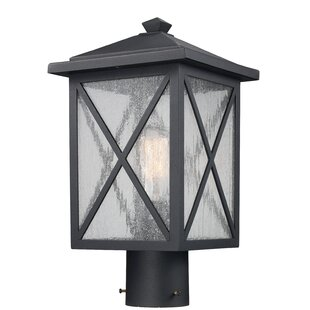 Lamp post lights youll love wayfair erikson 1 light lantern head mozeypictures Gallery