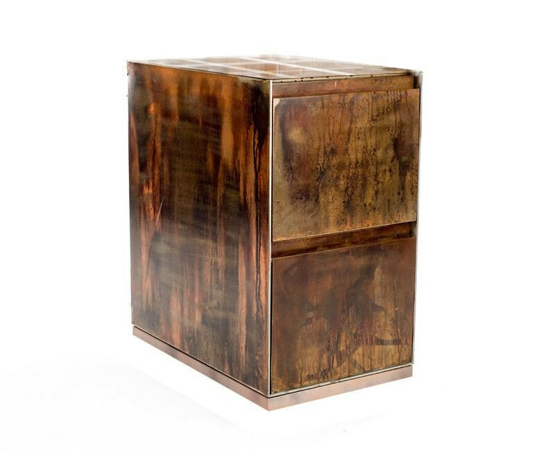 2-Drawer Open Top-Vintage File Cabinet - Urban 9-5 2-Drawer Open Top-Vintage File Cabinet Wayfair