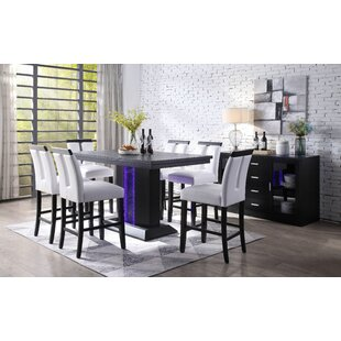 Buford 7 Piece Pub Table Set