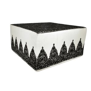 Fez Embroidered Ottoman by Casablanca Market