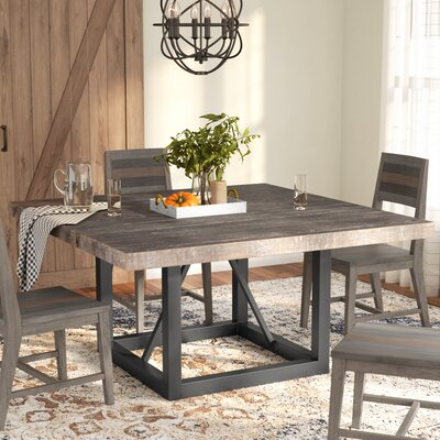 square dining room tables for 8 | 8 + Seat Square Kitchen & Dining Tables You'll Love | Wayfair