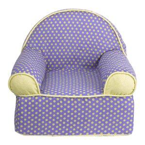 Periwinkle Kids Cotton Foam Chair by Cotton Tale