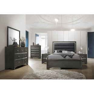 hunedoara panel configurable bedroom set - Grey Bedroom Set