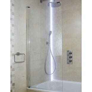 Glass 140 x 70cm Bath Screen by Belfry Bathroom
